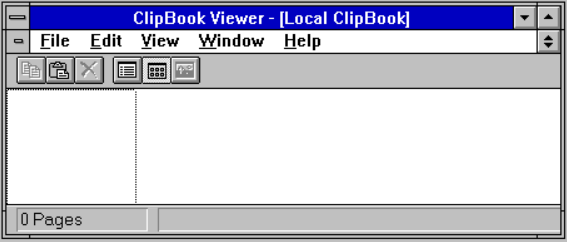 Heerdt-Training - Windows 3.11 Clipboard Viewer